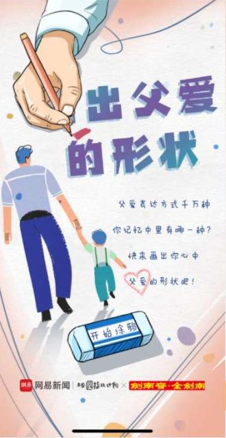 网易新闻 + 剑南春:画出父爱的形状