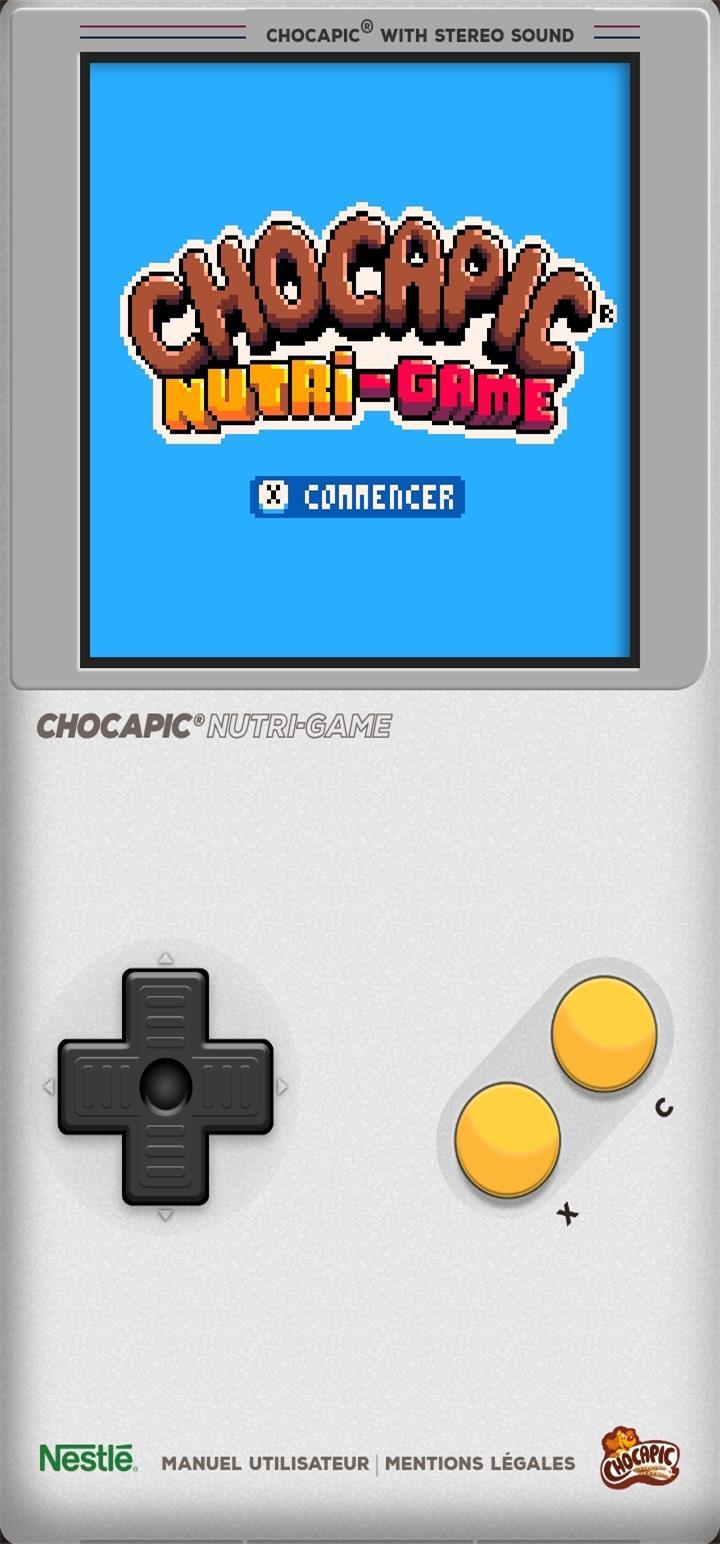 CHOCAPIC® Nutri-Game